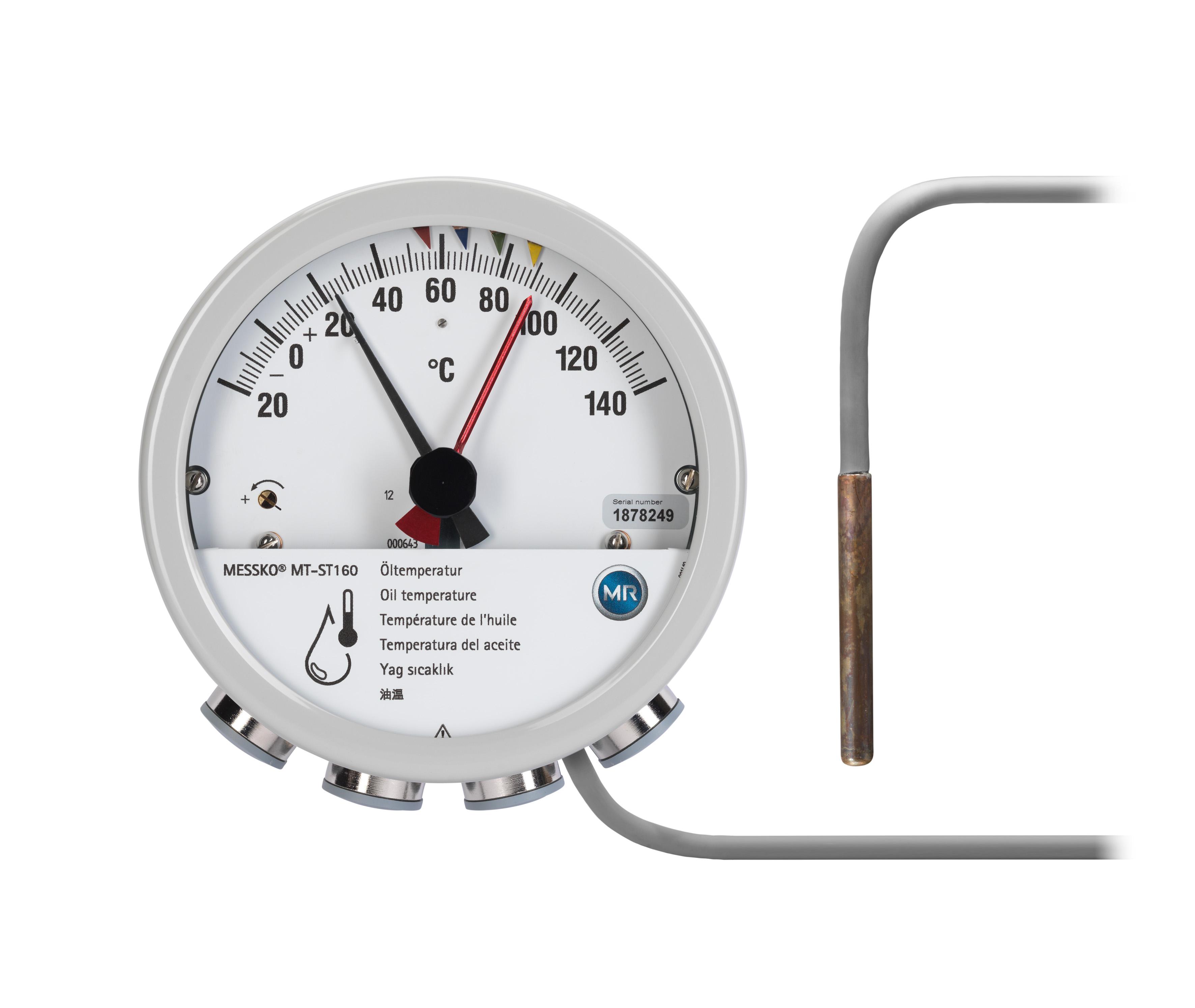 Winding and oil temperature indicators – Ardan Transformers